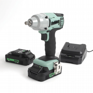 "Kielder KWT-002-17 3/8"" Drive 230Nm Brushless Impact Wrench With 2 2Ah Batteries"